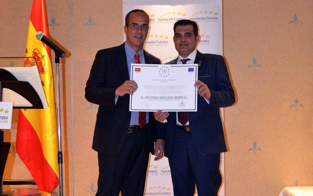 Medalla Europea al Mérito en el trabajo
