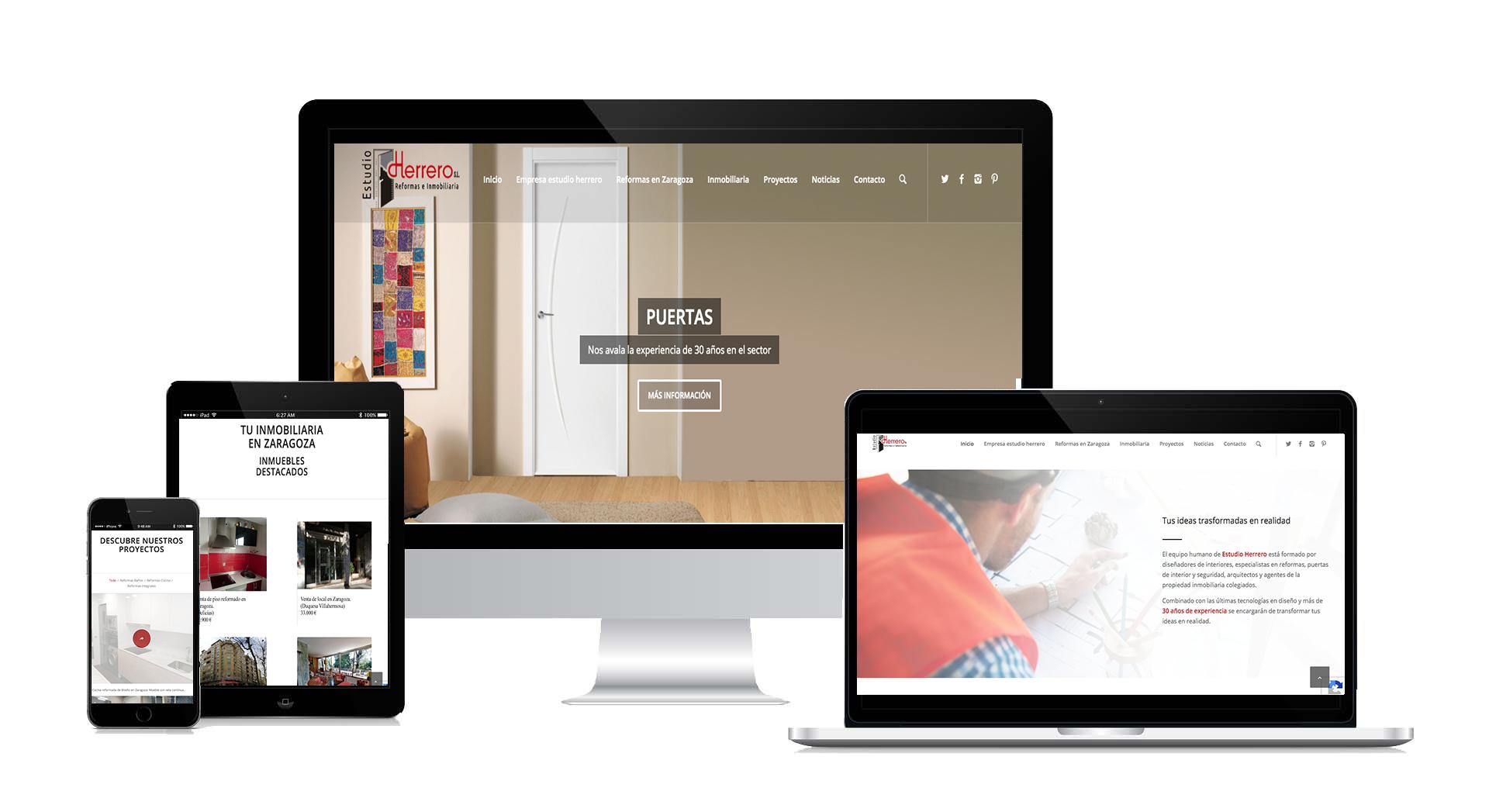 estudio herrero diseño web